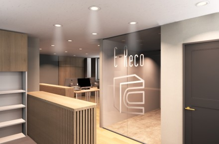 ㈱E-Reco Office エントランスパース